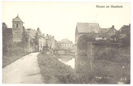 3 Cpa Mouzon Am Maaskanal / Hospice - France