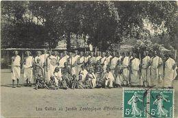 Pays Div-ref J631- Somalie - Les Gallas - Paris - Carte Bon Etat - - Somalie
