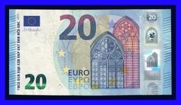 """20 EURO """"U"""" FRANCE  Firma DRAGHI U011 I6  CH 17 LAST POZITION SEE SCAN!!!!!!! - EURO"""