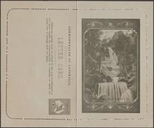 Australie 1911. Carte-lettre Officielle Illustrée, Timbrée 1 P « Kangourou ». Impression Brun-olive. Bridal Veil Falls - Géologie
