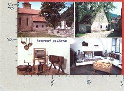 CARTOLINA NV SLOVACCHIA - CERVENY KLASTOR - Vysonuta Expozicia Vychodoslovenskeho Muzea V Kosiciach - 10 X 15 - Slovacchia