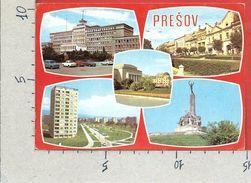 CARTOLINA VG SLOVACCHIA - PRESOV - Vedutine - Multivue - 10 X 15 - ANN. 1984 - Slovacchia