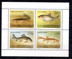 Kyrgyzstan - 1994 - Fishes - MNH - Kirghizistan