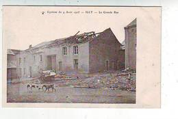 08. ILLY . CYCLONE DU 9 AOUT 1905 . LA GRANDE RUE . - Autres Communes