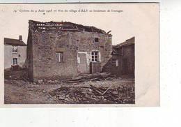 08. ILLY . CYCLONE DU 9 AOUT 1905 . VUE DU VILLAGE D'ILLY AU LENDEMAIN DE L'OURAGAN - France