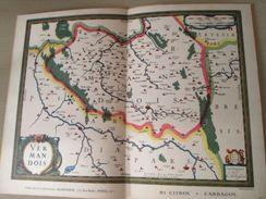 """DIV0714 : Jolie Repro De Carte Ancienne Années 1600/1700 ? VERMANDOIS (série """"VIEUX PAYS DE FRANCE"""" N°11) , Objet Public - Geographical Maps"""