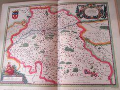 """DIV0714 : Jolie Repro De Carte Ancienne Années 1600/1700 ? TOVRAINE TOURAINE  (série """"LA FRANCE"""" N°11) , Objet Publicita - Geographical Maps"""
