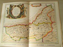 """DIV0714 : Jolie Repro De Carte Ancienne Années 1600/1700 ? SARLAT (série """"VIEUX PAYS DE FRANCE"""" N°2) , Objet Publicitair - Geographical Maps"""
