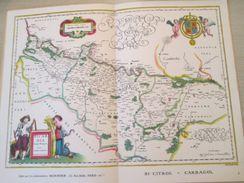 """DIV0714 : Jolie Repro De Carte Ancienne Années 1600/1700 ? PICARDIE (série """"LA FRANCE"""" N°1) , Objet Publicitaire édité """" - Mapas Geográficas"""