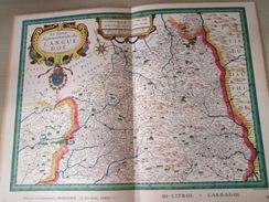 """DIV0714 : Jolie Repro De Carte Ancienne Années 1600/1700 ? LE LANGUEDOC SEPTENTRIONAL  (série """"LA FRANCE"""" N°18) , Objet - Geographical Maps"""
