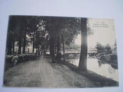 Ath // Chemin De Ronde Et Pont De L ' Hôpital (Schaapskudde) 19?? - Ath