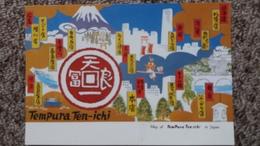 CPM MAP OF TEMPURA TEN ICHI IN JAPAN JAPON - Non Classificati