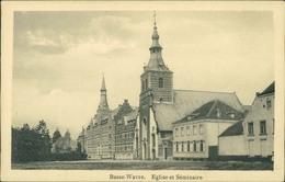 AK Wavre, Basse-Wavre, Eglise Et Séminaire, Ca. 1910er Jahre (25859) - Wavre