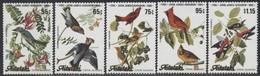 Aitutaki 1985 Yvertn° 419-423 *** MNH Cote 13,50 Euro Faune Oiseaux Vogels Birds Audubon - Aitutaki