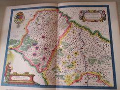 """DIV0714 : Jolie Repro De Carte Ancienne Années 1600/1700 ? LE GASTINOIS  (série """"LA FRANCE"""" N°14) , Objet Publicitaire é - Geographical Maps"""