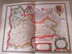 """DIV0714 : Jolie Repro De Carte Ancienne Années 1600/1700 ? LE DAVPHINE DAUPHINE  (série """"LA FRANCE"""" N°15) , Objet Public - Mapas Geográficas"""
