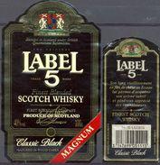 1546 - Ecosse - Finest Blended Scotch Whisky - Label 5 - Magnum - - Whisky