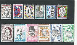 TUNISIE Scott 830-835, 842-847 Yvert 993-998, 1006-1011 (12) **  Cote 5,90$ 1983-4 - Tunisie (1956-...)
