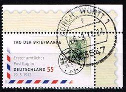 Bund 2012, Michel# 2954 O Tag Der Briefmarke - BRD
