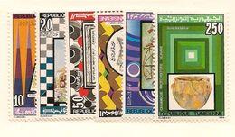 TUNISIE Scott 895-900 Yvert 1062-1067 (6) **  Cote 4,00$ 1986 - Tunisie (1956-...)