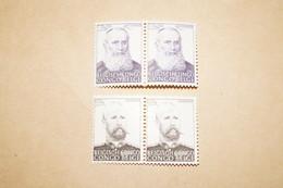 Congo Belge,lot De 2 Paires,3 Fr. Et 1,50 Fr.Lavigerie Et Dhanis.superbe Lot Strictement Neuf,collection - Congo Belge