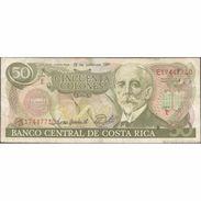 TWN - COSTA RICA 257a - 50 Colones 19.6.1991 E 17447730 FINE - Costa Rica