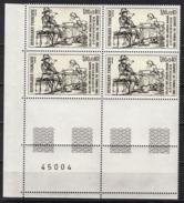 FRANCE  1983 - BLOC DE 4 TP Y.T. N° 2258 - COIN DE FEUILLE NEUFS** - Frankreich