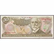 TWN - COSTA RICA 257e - 50 Colones 7.7.1993 Serie E UNC - Costa Rica