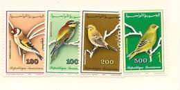 TUNISIE Scott 1011-1014 Yvert 1182-1185 (4) **  Cote 5,50$ 1990 - Tunisie (1956-...)