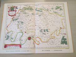 """DIV0714 : Jolie Repro De Carte Ancienne Années 1600/1700 ? ISLE DE FRANCE (série """"LA FRANCE"""" N°1) , Objet Publicitaire é - Cartes Géographiques"""