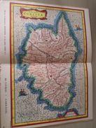 """DIV0714 : Jolie Repro De Carte Ancienne Années 1600/1700 ? CORSE (série """"LA FRANCE"""" N°24) , Objet Publicitaire édité """"en - Geographical Maps"""