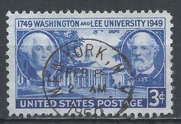 United States 1949. Scott #982 (U) Washington & Lee University - Etats-Unis