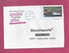 Lettre De Saint Pierre Et Miquelon Pour La France De 2012 - YT N° 1010 - Bateau - - St.Pierre Et Miquelon