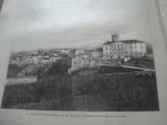 ILLUSTRAZIONE ITALIANA 1890 ROCCA GRIMALDA TAGLIOLO CASTELLO D'IVANO BUFFALO BILL A MILANO - Libros, Revistas, Cómics
