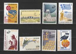 Grece N° 1868 à 1875** Série Anniversaires Et Evenements - Unused Stamps