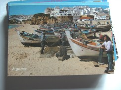 Portugal Algarve Albufeira And Boats - Andere