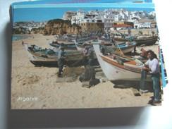 Portugal Algarve Albufeira And Boats - Portugal