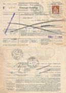 NN Brief  Solothurn - Lugano  (Stempel Lugano Vaglia)             1927 - Storia Postale