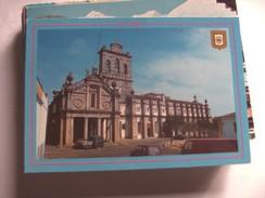 Portugal Evora Church And Cars - Evora