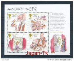 GROßBRITANIEN Mi.Nr. Block 71 Kinderbücher Von Roald Dahl - MNH - Hojas Bloque