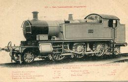 LOCOMOTIVE(TRAIN) ANGLETERRE - Treinen