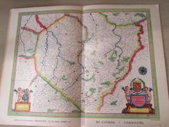 """DIV0714 : Jolie Repro De Carte Ancienne Années 1600/1700 ? CHAMPAGNE  (série """"LA FRANCE"""" N°13) , Objet Publicitaire édit - Geographical Maps"""