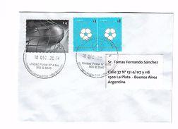 L'Argentine Enveloppe Distribuée Avec Le Sceau Football - Wereldkampioenschap