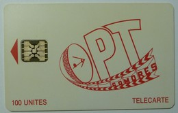 COMORES - Schlumberger - D2 - OPT - 42314 - 100 Units - Used - Comoros