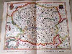 """DIV0714 : Jolie Repro De Carte Ancienne Années 1600/1700 ? ANIOV ANJOU (série """"LA FRANCE"""" N°25) , Objet Publicitaire édi - Mapas Geográficas"""