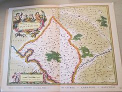 """DIV0714 : Jolie Repro De Carte Ancienne Années 1600/1700 ?  VEXIN FRANCAIS (série """"VIEUX PAYS DE FRANCE"""" N°56) , Objet P - Mapas Geográficas"""