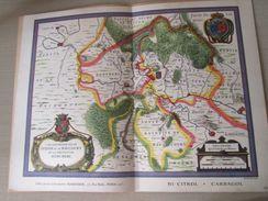 """DIV0714 : Jolie Repro De Carte Ancienne Années 1600/1700 ?  SEDAN RAUCOURT ET DONCHERI (série """"VIEUX PAYS DE FRANCE"""" N°1 - Cartes Géographiques"""
