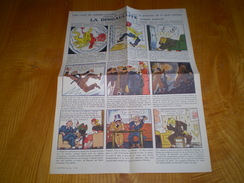 Planche BD,propagande De Vichy La Dingaullite,illust.Mars Trick;humour Militaria Anti De Gaule,résistance & Franc Maçon - Documents