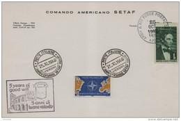 1960 Italia Verona SETAF NATO North Atlantic Treaty Organization OTAN Organisation Du Traité De L'Atlantique Nord - NATO