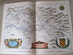 """DIV0714 : Jolie Repro De Carte Ancienne Années 1600/1700 ?  PAYS DE TURENNE  (série """"VIEUX PAYS DE FRANCE"""" N°20) , Objet - Cartes Géographiques"""